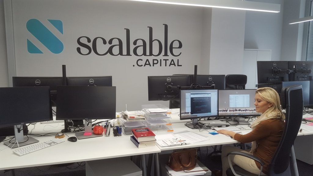 Scalable Capital Office in Muenchen