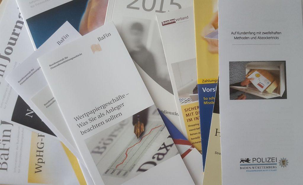 Polizei-BW und die BaFin nahm an Finanzmesse Stuttgart teil