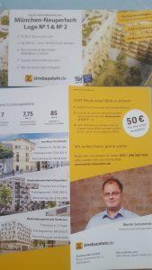 Zinsbaustein.de - Broschuren von Finanzmesse 2017 in Stuttgart