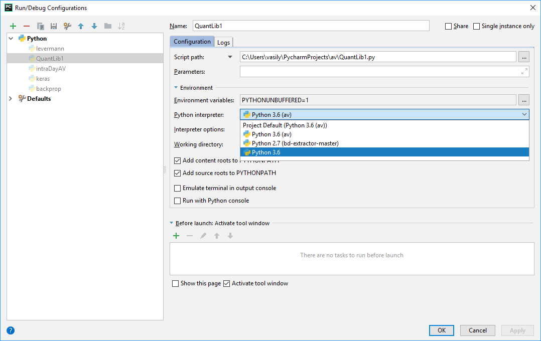 QuantLib Python - debugging C++ side with Visual Studio and